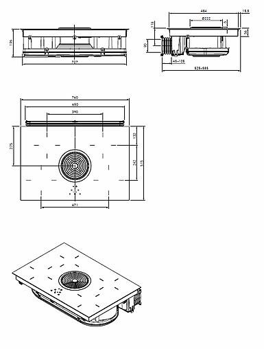 kochfeld biu ean nummer 4260326371949 induktions glaskeramik kochfeld mit 4 kochzonen und. Black Bedroom Furniture Sets. Home Design Ideas