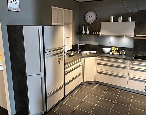 L küche 2 hochschränke nova steingrau dekor