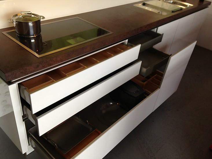 Selektion d1 musterk che moderne grifflose k che in - Moderne highboards ...