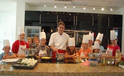 Kochevent in der Vorführ-Küche