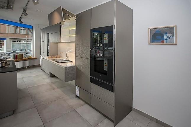 Allmilmö   Modern Art Wave Diamantlack Titan Hochwertige Küche In  Griffloser Ausführung
