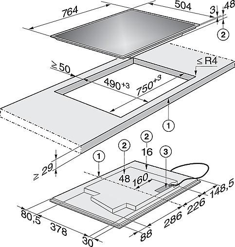 kochfeld induktions kochfeld km 6629 miele kochfeld induktion miele k chenger t von past k chen. Black Bedroom Furniture Sets. Home Design Ideas