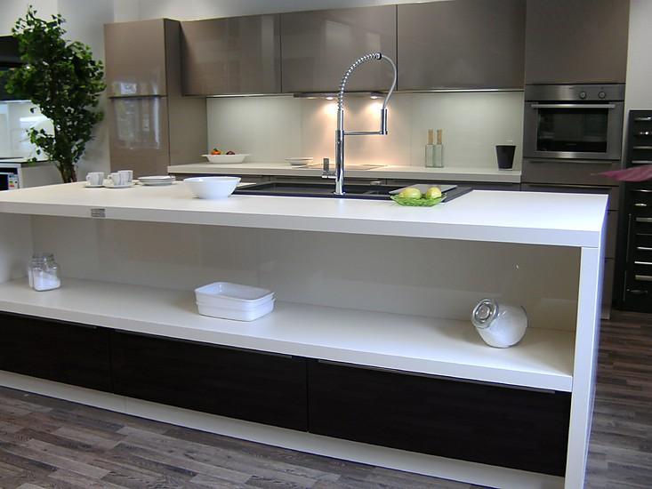nolte musterk che nova lack hochglanz ausstellungsk che. Black Bedroom Furniture Sets. Home Design Ideas