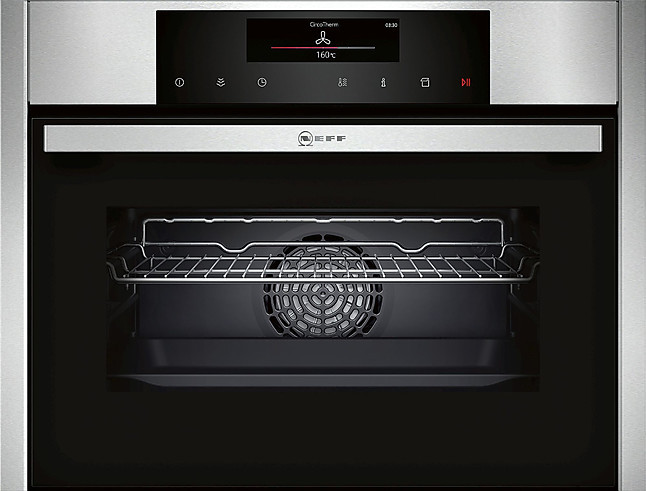 dampfbackofen c16ft24n0 compact einbaubackofen mit fullsteam neff k chenger t von siematic by. Black Bedroom Furniture Sets. Home Design Ideas