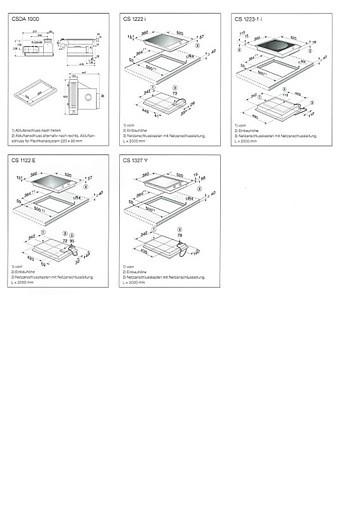 kochfeld muldenl ftung csda 1010 kombi induktion. Black Bedroom Furniture Sets. Home Design Ideas