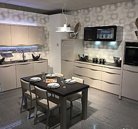 nobilia musterk che nobilia 615 laser 413 mineralgrau. Black Bedroom Furniture Sets. Home Design Ideas