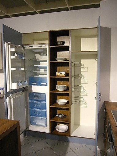 häcker-musterküche moderne l-küche mit mittelblock ... - Küche Mittelblock