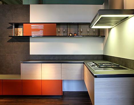 Moderne küche mit insel segmento