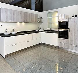 Moderne L Küche Mit Holzelemente