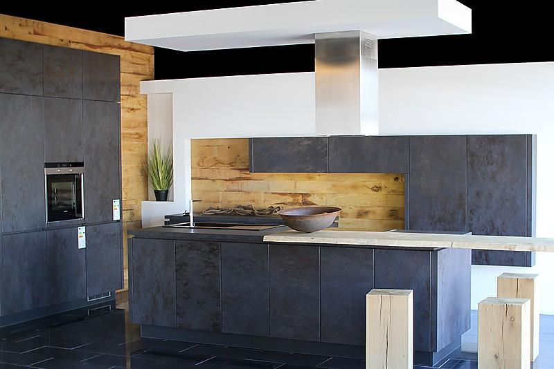 alno musterk che alno cera keramik k che bosch oxide nero ausstellungsk che in burgau von varia. Black Bedroom Furniture Sets. Home Design Ideas