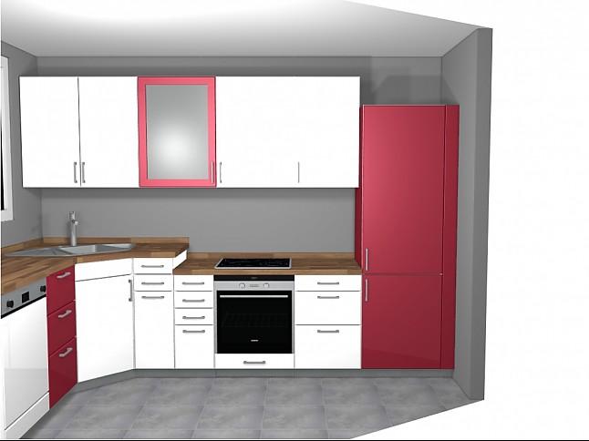 rempp musterk che l k che mit unterschiedlichen arbeitsh hen ausstellungsk che in wildberg von. Black Bedroom Furniture Sets. Home Design Ideas