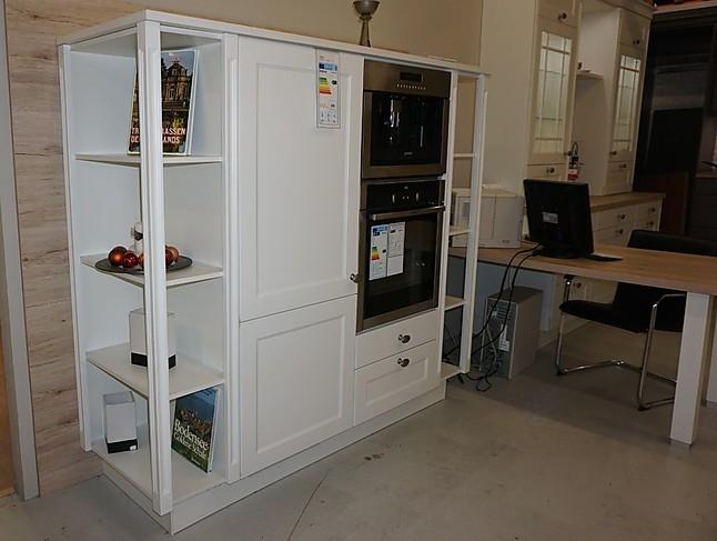 nobilia musterk che hochwertige landhausk che chalet lack wei matt mit eiche san remo. Black Bedroom Furniture Sets. Home Design Ideas