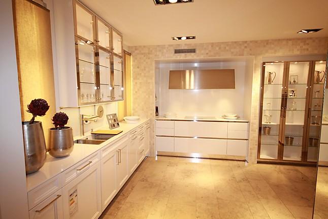 Einbauküchen Braunschweig siematic musterküche siematic küche in glänzender optik mit