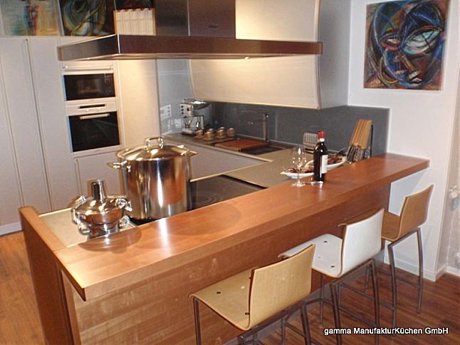 valcucine musterk che der design klassiker ausstellungsk che in saarbr cken von gamma. Black Bedroom Furniture Sets. Home Design Ideas