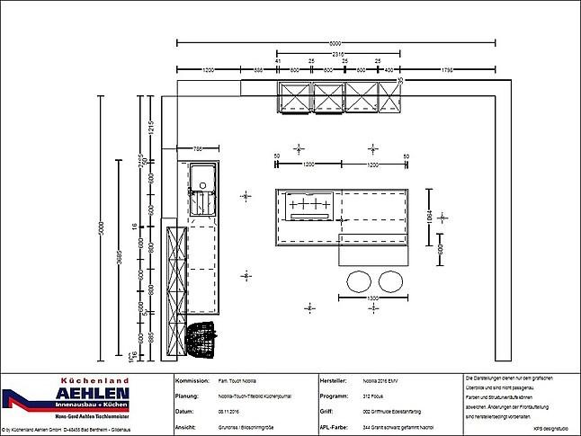 nobilia musterk che weltneuheit von nobilia grifflose. Black Bedroom Furniture Sets. Home Design Ideas