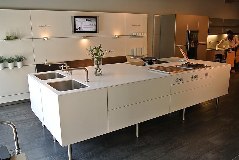 bulthaup musterk che bulthaup b3 mattweiss. Black Bedroom Furniture Sets. Home Design Ideas
