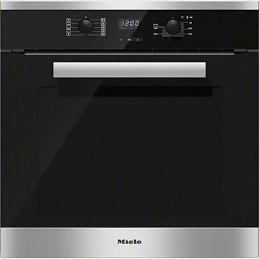 backofen h 2661 1 b miele h 2661 1 b edelstahl cleansteel. Black Bedroom Furniture Sets. Home Design Ideas