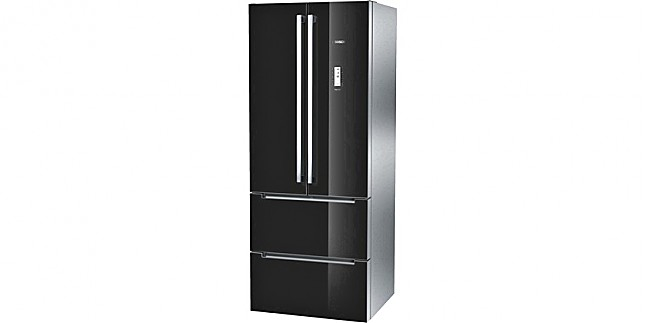 k hlschrank kmf40sb20 t ren schwarz k hl gefrierkombination french door nofrost colorglass. Black Bedroom Furniture Sets. Home Design Ideas