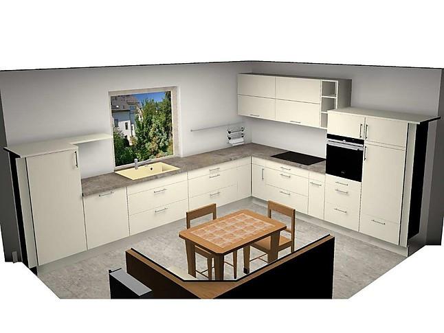 Burger   Flora Magnolie Moderne Winkelküche Mit Geräten Und  Granitarbeitsplatte
