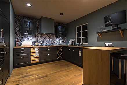 Stilvolle Landhausküche
