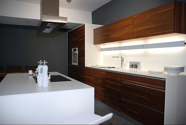 team 7 musterk che grifflose vollholzk che. Black Bedroom Furniture Sets. Home Design Ideas