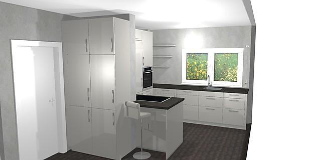 sch ller musterk che sch ne hochglanz k che die noch frei geplant werden kann ausstellungsk che. Black Bedroom Furniture Sets. Home Design Ideas
