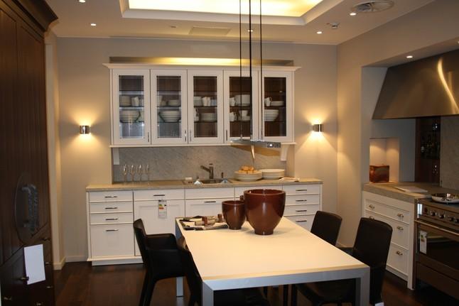 Küchenatlas Musterküchen Siematic ~ siematic musterküche zeitlos moderne landhausküche mit chin hochzeitsschrank ausstellungsküche