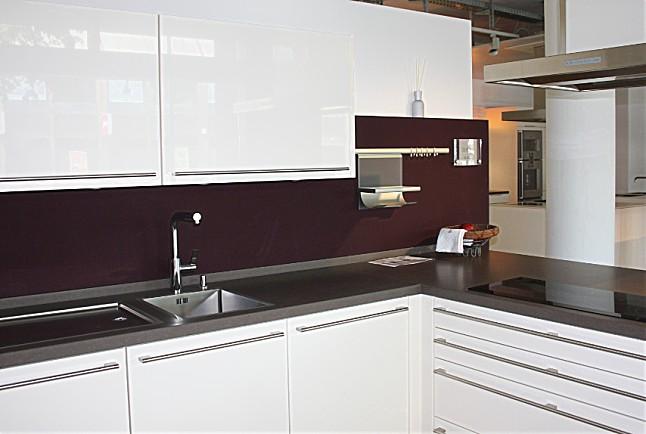 Küchen Bad Homburg siematic musterküche l küche in weiß hochglänzend ausstellungsküche