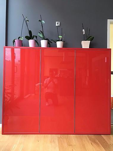 Sachsenkuchen Musterkuche Sideboard Mit Glasfronten