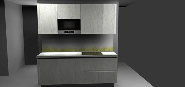 Singleküche luxus  altano-Musterküche Singleküche: Ausstellungsküche in von