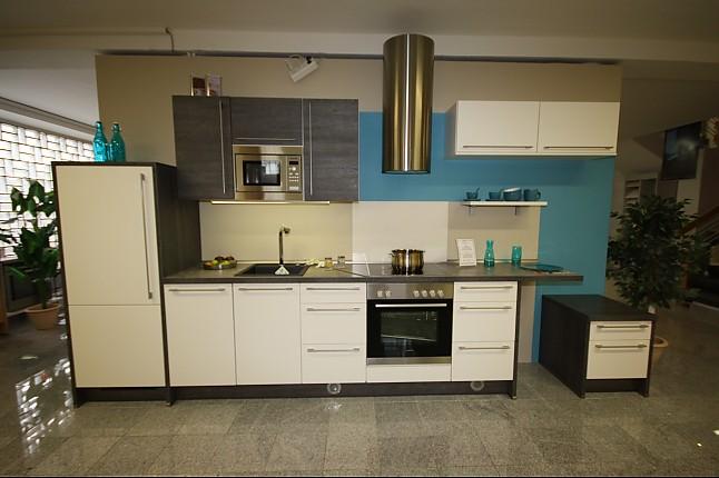 nobilia musterk che zeitlose zeile mit sitzgelegenheit ausstellungsk che in marl von. Black Bedroom Furniture Sets. Home Design Ideas