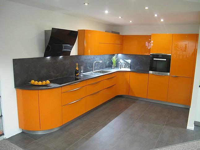 Störmer Küche störmer küchen musterküche orangener hingucker störmer
