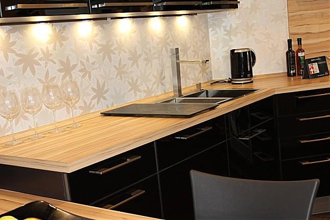 wellmann musterk che reddy a glaseffekt schwarz. Black Bedroom Furniture Sets. Home Design Ideas
