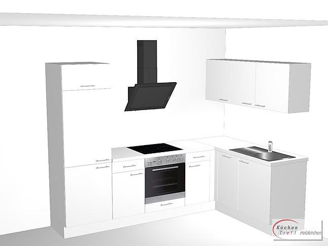 Pino   PN 80 Verschiedene Fronten KüchenTreff Holzkirchen Pino Einbauküche  L Küche Küchenzeile Inklusive Elektrogeräte