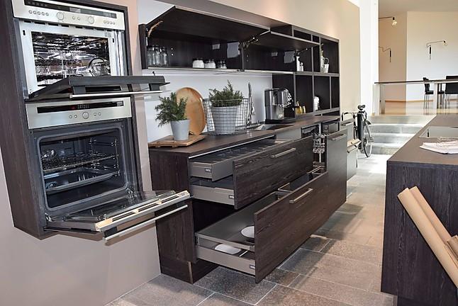 nolte musterk che nolte k che mooreiche gek lkt inselk che. Black Bedroom Furniture Sets. Home Design Ideas