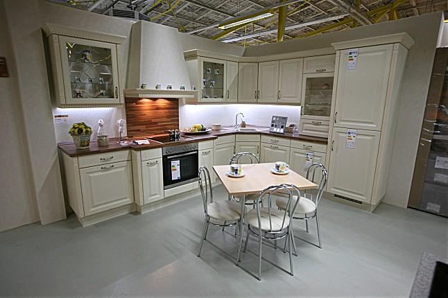 nobilia musterk che landhausk che in l form mit pilaster ca 345 x 280cm ausstellungsk che in. Black Bedroom Furniture Sets. Home Design Ideas