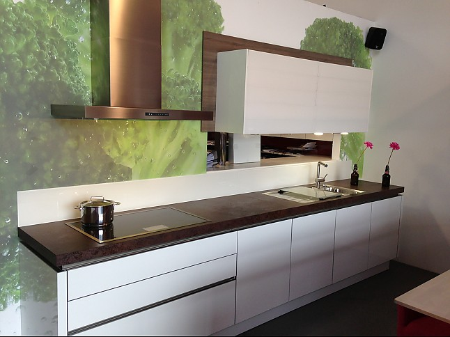 selektion d musterk che moderne grifflose k che in kombination mit ger te highboards und climber. Black Bedroom Furniture Sets. Home Design Ideas