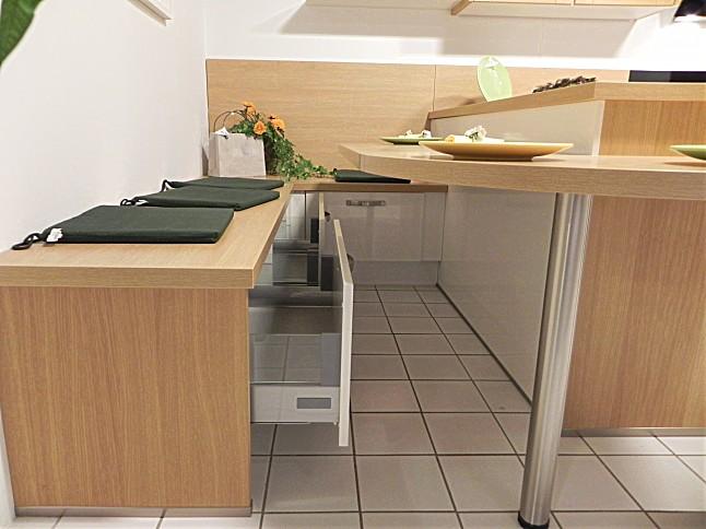 Nobilia-Musterküche moderne Landhausküche mit Echtholz Front in ...   {Moderne landhausküche nobilia 64}