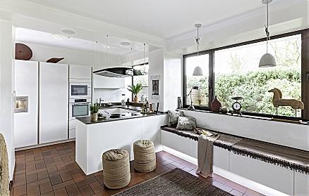 Hochmoderne Designküche aus dem Hause Rochol
