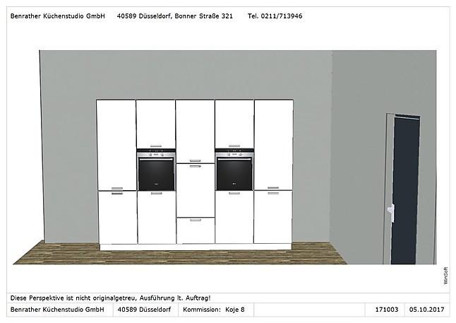 Ballerina-Musterküche Hochglanz-Lack Küche mit Insellösung ...
