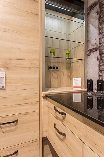 nobilia musterk che u k che mit natursteinarbeitsplatten ausstellungsk che in k nigs. Black Bedroom Furniture Sets. Home Design Ideas
