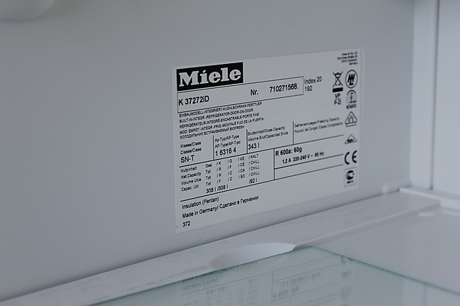 Miele Einbau Kühlautomat K37272iD Miele Einbau Kühlautomat K37272iD Miele