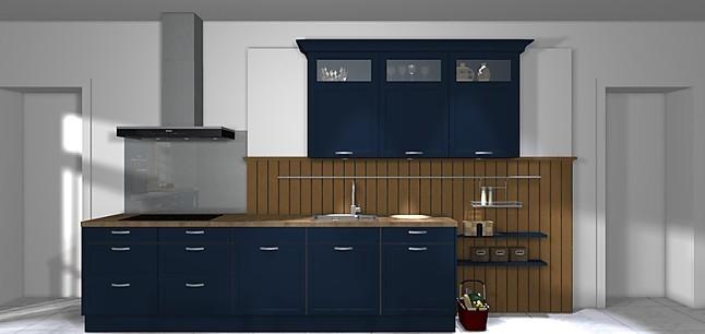 h cker musterk che bristol samtblau c198. Black Bedroom Furniture Sets. Home Design Ideas