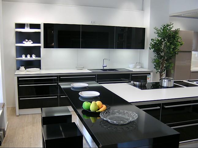 nolte musterk che nova glass ausstellungsk che in. Black Bedroom Furniture Sets. Home Design Ideas