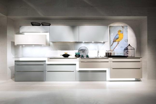 H cker musterk che zick zack av3020 av1035 ozeanblau metallic kashmir matt Modern kitchen design trends 2014