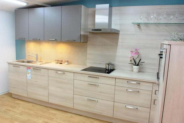 Kuche akazie hell for Gebrauchte kuchen mannheim
