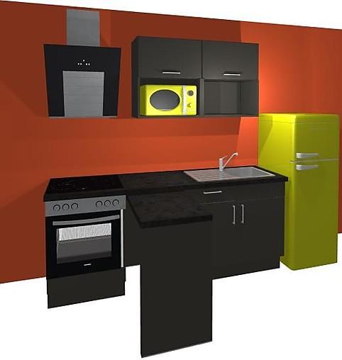 burger musterk che kunststoff ebony ausstellungsk che in sohland von kms schaffrath schmidt gbr. Black Bedroom Furniture Sets. Home Design Ideas