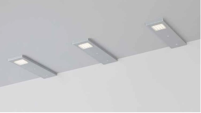 Sonstige und Zubehör 219-3 LED Unterbauleuchten 3 er Set Warmweiß ...