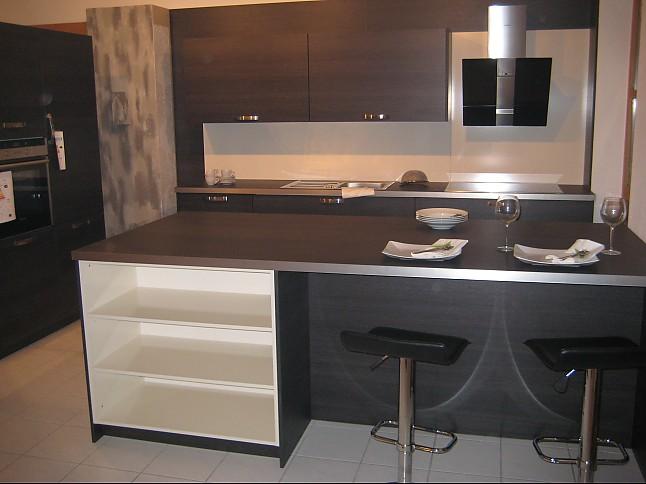 h cker musterk che moderne einbauk che eiche terra mit. Black Bedroom Furniture Sets. Home Design Ideas