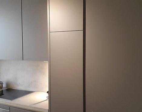 U Küche Grifflos Grau Matt   Grifflos Küche